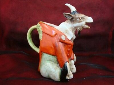 Pitcher Pitcher Figurine Goat Ram Aries Art Deco-German Style Art Nouveau Style
