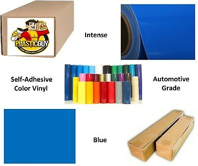 """15"""" x 50yd Blue #067 Oracal 651 Graphic Sign Cut Vinyl (Private Label)"""
