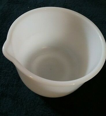 Glasbake made for Sunbeam Mixers - Small Baking Mixing Bowl Vintage