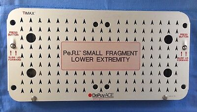 DePuy ACE TiMax P.e.R.I. Small Fragment Lower Extremity Plates & Tray