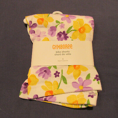 NWT Gymboree Daffodil Garden Bike Short Shorts Bottoms 4 5 7 9 12 Floral Purple