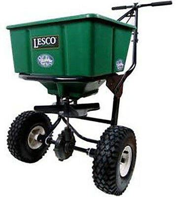 Lesco Spreader - 50 Lbs. Hopper # 092807