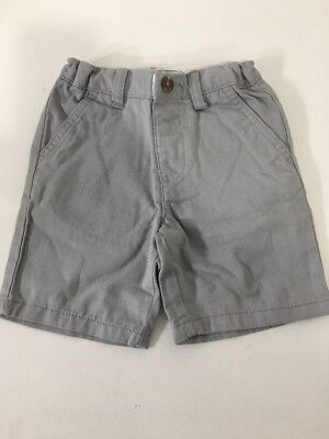 Children's Place Toddler Boys Woven Chino Shorts Alloy 3T Nwt