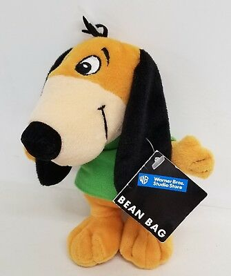 "Warner Brothers Studio Store Hanna Barbera Augie Doggie 7"" Plush Bean Bag Toy"