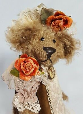 "13.5"" Pauline Isabelle LeMaster by Cindy McQuire, China Cupboard Bears OOAK"
