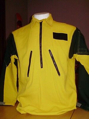 COAXSHER WILD FIRE VENTED WILDLAND VENTED SHIRT CX-1500 FIRE FIGHTER large