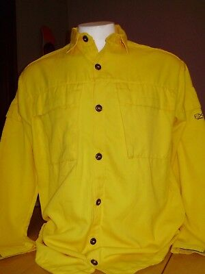 COAXSHER WILD FIRE WILDLAND BUTTON DOWN SHIRT FIRE FIGHTER large