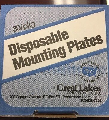 Disposable Mounting Plates For Sam, Stuart, Whipmix & Quick Articulators