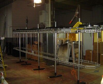 White Double Deck Drycleaning Conveyor