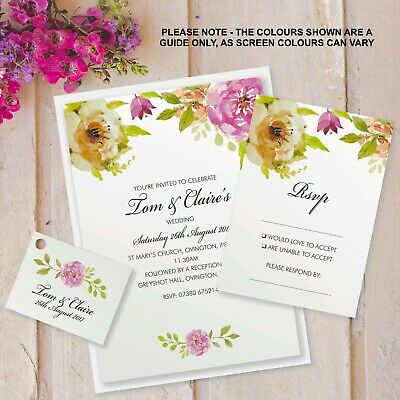 Personalised Surprise Birthday Party Invitations 18th 21st