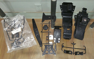 NEW Vintage Tamiya NOS The Fox #58051 Parts LOT, Chassis upper & lower and MORE!