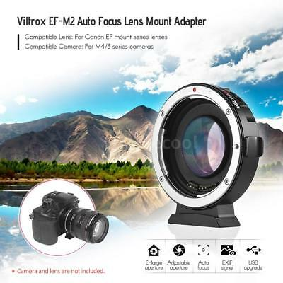 VILTROX EF-M2 Auto Focus Adapter 0.71x Aperture For Canon EOS EF To M43 MTF Lens