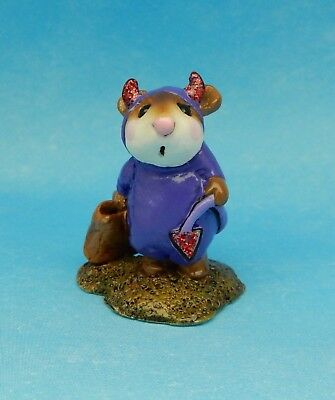 LITTLE DEVIL by Wee Forest Folk, WFF# M-61, Purple, Mouse Expo LTD