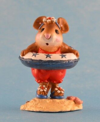 LITTLE DIPPER by Wee Forest Folk, WFF# M-278, Retired LTD Patriotic Mouse