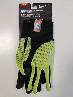Nike Men's DRI-FIT Tailwind Run Gloves Freedom to Scroll Size S M L XL NEW RARE