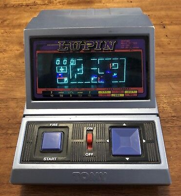 Tomy LSI Table Top Game LUPIN 1982 Made In Japan Vintage Retro