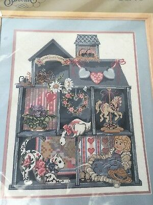 "Dollhouse Shadowbox Needlepoint Kit by Something Special 16"" x 20"""