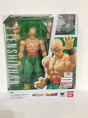 IN STOCK  AUTHENTIC S.H Figuarts Tien Shinhan Dragon Ball Z Action Figure Bandai