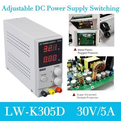 30V 5A Adjustable LED Display DC Power Supply Switching Power AC 220V FK