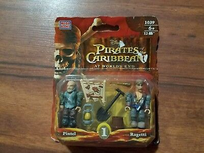 Mega Bloks Pirates of the Caribbean #1039 pintel and ragetti brand new sealed