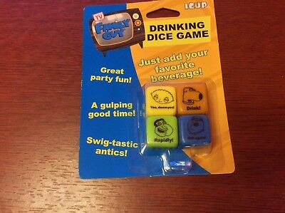 ICUP Family Guy Drinking Dice Game