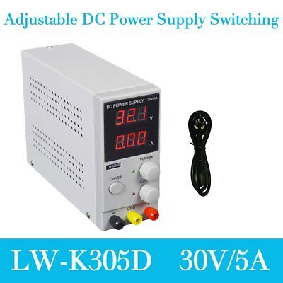 30V 5A 220V Digital Switching Precision Variable DC Power Supply Adjustable FK