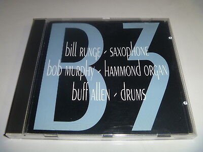 B3 Bob Murphy, Bill Runge & Buff Allen 1994 Hammond Organ CD