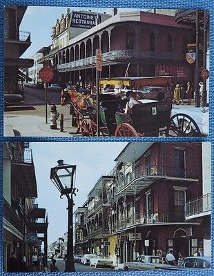 2 Postcards from New Orleans - Antoine's & French Quarter