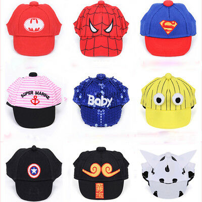 Pet Canvas Baseball Cap Puppy Small Dog Sun Hat Teddy Outdoor Hats Cat Headwear