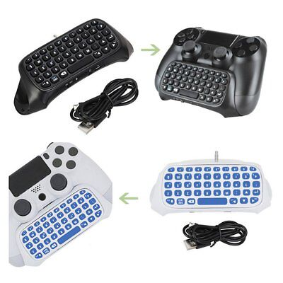 Bluetooth Wireless Keyboard Chatpad Keypad For PS4 PlayStation 4 Controller FK