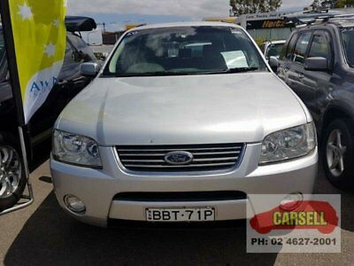 2004 Ford Territory SX Ghia Silver Automatic A Wagon