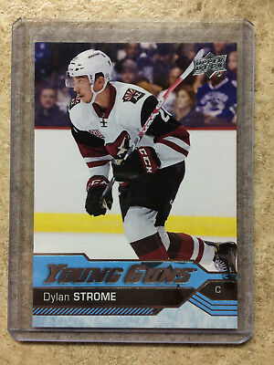 16-17 UD Upper Deck Series 2 YG Young Guns #498 DYLAN STROME RC Rookie