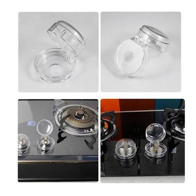 Clear Kitchen Gas Electric Stove Knob Covers for Baby Kids Children Locks 2018