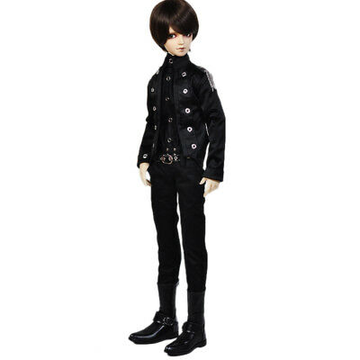 [wamami] For 1/4 MSD AOD LUTS BJD Dollfie 774# England Style Black Coat/Outfit