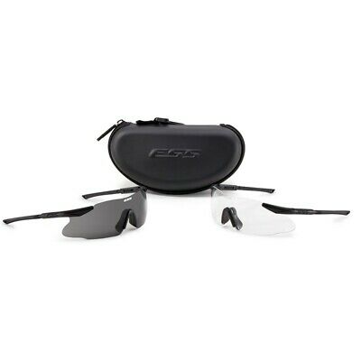 Ess Crosshair 2X Apel Ballistic Eyeshield Kit 2 X Complete Glasses Kit With Case