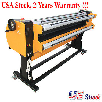 """67"""" Stand Frame Full-auto Single Side Wide Format Hot/Cold Laminator with Stand"""