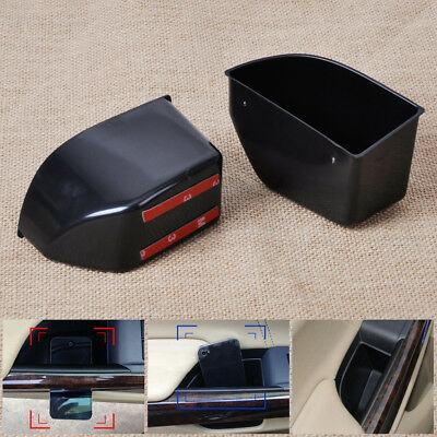 2Pcs for Accord 2008-2012 Rear Door Armrest Secondary Storage Box Container