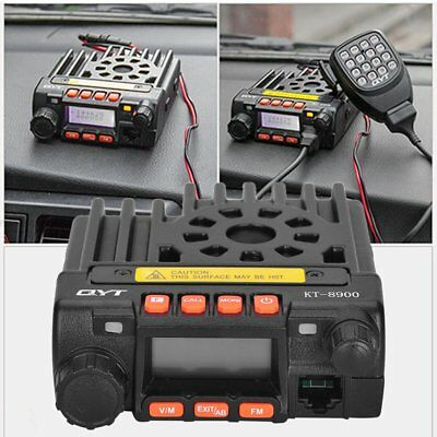 QYT KT8900 Mini Dual Band Car Radio Mobile Transeiver Vehicle Mounted Station vy
