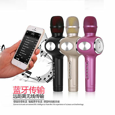 E108 Wireless Bluetooth Portable KTV Karaoke Microphone singing artifact
