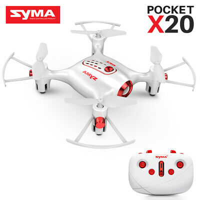 SYMA X20 MINI RC Quadcopter 2.4G 6-Axis Gyro Hovering Drone RTF Gift Toy for Kid
