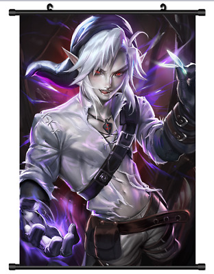B4191  Anime The Legend of Zelda Dark link Game Wallscroll Stoffposter 25x35cm