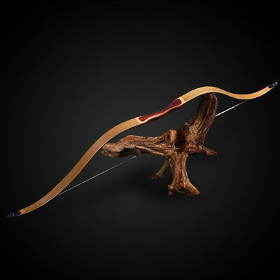 """50"""" Laminated Recurve Bow Archery Hunting Target Right Left Hand Traditional Bow"""