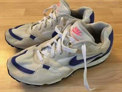 quality design ad6d0 3a06b Vintage 1992 Nike Air Anodyne 104002 140 Sneakers Made In Korea Mens 9.5  READ