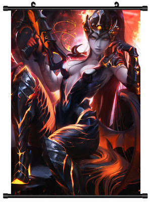B4224 Overwatch game Widowmaker Wallscroll Stoffposter 25x35cm
