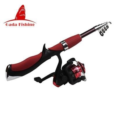 FISHING ROD AND REEL SET Lure Fishing Reels Carbon Superhard Ultra Light Rod Fis