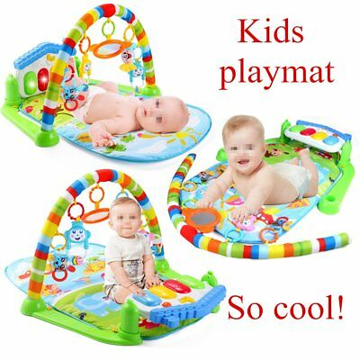 Baby Music Play Mat Fitness Game Blanket Developing Rug Carpet Educational Toy K