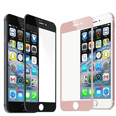 4D Full Cover Tempered Glass Screen Protectors For Apple iPhone 8 7 6S 6 Plus