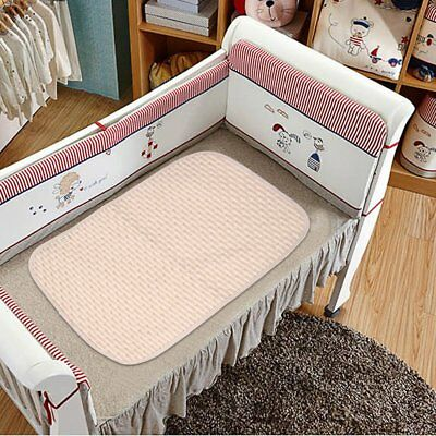 Comfortable Newborn Baby Diaper Changing Pad Cotton Breathable Urine Pad FK