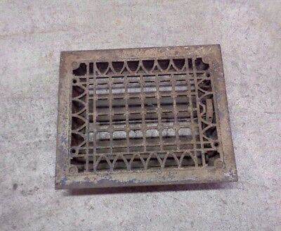 Antique Cast Iron Rectangle Floor Grate - Heating Register