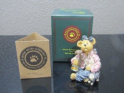 """BOYDS BEARS & FRIENDS """"Ruthie Pawsenclaws... Unconditional Love 2277907 1E/5852"""